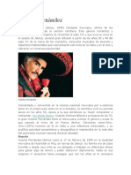 Biografia de Vicente Fernandez