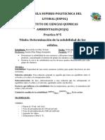 Informe de La Practica 5