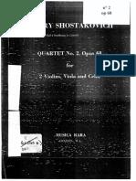 dsch.dimitri.chostakovitch.shostakovich.schostakowich.quartet.quatuor.n°2.sheet.partition.violin..pdf