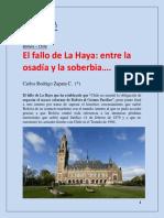 CLARABOYA El Fallo de La Haya - Entre La Osadía y La Soberbia…. Scribd