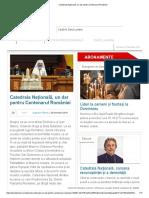 Catedrala Națională, Un Dar Pentru Centenarul României