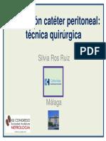 Colocacion cateter peritoneal