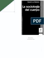 Sociología del cuerpo de David Le Breton.