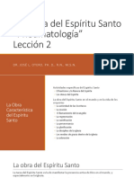 Doctrina Espiritu Santo Leccion 2