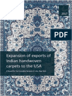 Report on Promotion of Carpet Exports