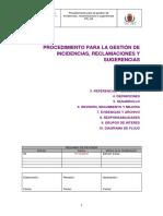 P Gestion PQRS