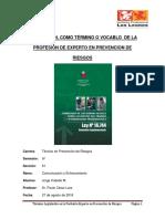 Trabajo Comunicacion y Entrenamiento 27-08-2018