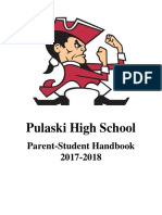 pulaski high school handbook 17-18