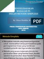 PL Metode Simpleks