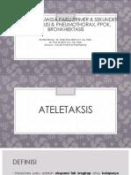Ppt Radiologi Ateletaksis Massa Paru Primer Sekunder Pleura Efusi, Pleura Pneumothorax Ppok Bronkhiektasis