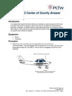 A1 2 2 Center of Gravity AnsKey
