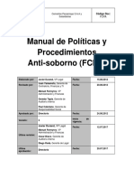 Manual de Políticas y Procedimientos Anti-Soborno