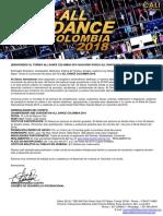 1.-Invitación All Dance Colombia 2018 (3)