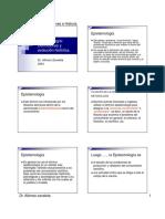 T1 Epistemologia Definiciones Historia