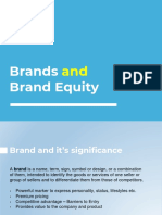 Brands and Brand Equity