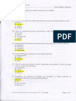 Examen de Admisión Nuevo Ingreso 2016 - UES - AGEFMO Respuestas