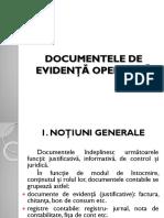 Documente Specifice Unitatilor de Alimentatie