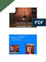 Harvey Newton_Treinamento de Força Para Jovens