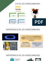 Importancia de Los Hidrocarburos