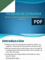 Tecnicas de Citologia
