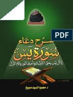 شرح دعاء سورة يس - محمود السيد صبيح