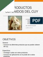 Productos Obtenidos Del Cuy
