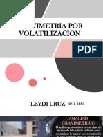 Gravimetria Por Volatilizacion