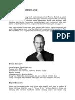 Biografi Steve Jobs Pendiri Aplle