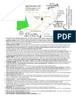 Rogart Mountain Map and Legend One Pager