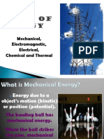 Q3 W5 Types of Energy & Energy Transformation