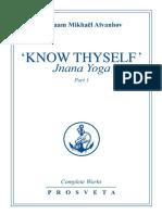 _Know Thyself__ Jnana Yoga_ Par - Omraam Mikhael Aivanhov