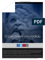Aécio Neves - O Candidato Escondido
