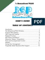 RSP Manual