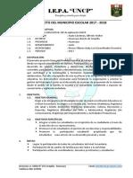 Proyecto Del Municipio Escolar 2017