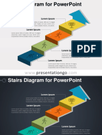 staircase ppt template