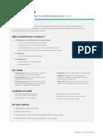 Introduction to Entrepreneurship Lesson Plan