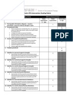 brauzer j 2017 peds spa intervention plan rubric