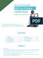 Cr-10S Pro Guide Book