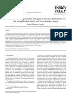 La Bioenergía en México