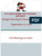 annual meeting pp 2018
