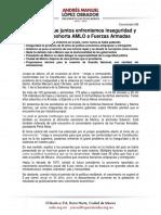 088 AMLO Fuerzas Armadas, 25nov18