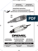 Manual Dremel