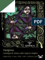 [Valdemar] [Gotica 79] AA. VV. - Vampiras. Antologia de relatos sobre mujeres vampiro [26214] (r1.0).epub