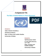 Un Role in Peace Movement by Sahiduzzaman Sohel Roll.05