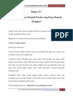 Bagian 18 Menjadi Penulis Yang Punya Banyak Pengikut