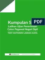 CPNS - Test Anatomi Lawan Kata