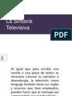 La Sintaxis Televisiva