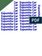 espumita car.docx