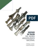 Catálogo Hachas de Talón del MAN.
