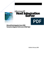Host Integration Server 2006 TI Performance